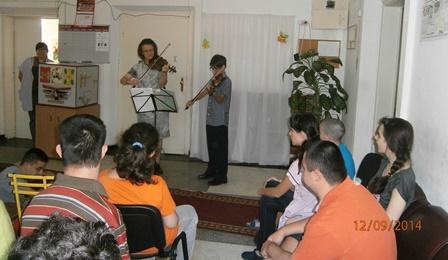Благотворителен концерт на световноизвестната цигуларка проф. Деворина Гамалова